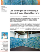 Mosaic Strategies in the Work of Isabel Ferrand