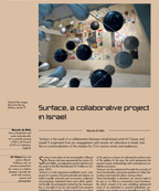 Surface, a collaborative project in Israel