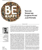 Toys as Tesserae: Eugenio Rivas' Just Animals